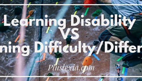 Learning-Disability VS Learning-Difficulty